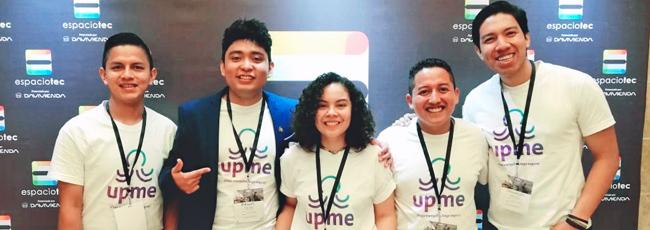 Alumnos UDB obtuvieron primer lugar en el certamen ESPACIOTEC