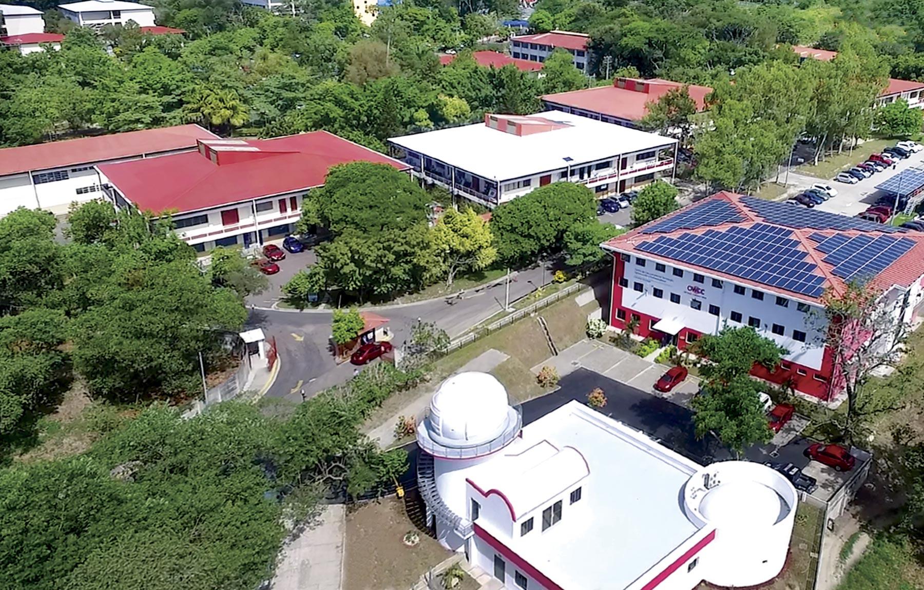 Campus foto aerea