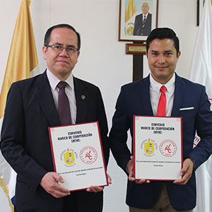 Universidad Don Bosco y Universidad American College firman convenio