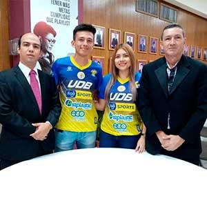 Jessica de Paz y Wilber Portillo de la UDB reciben el título de Atletas Destacados 2019 por ANADES