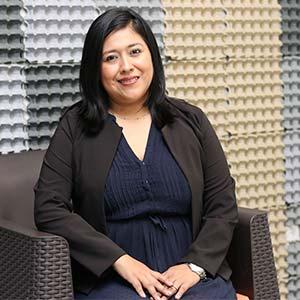Karens Medrano: una investigadora con vocación