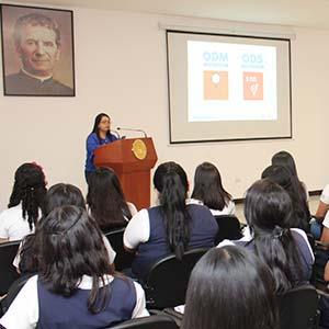 """Xiomara Martínez: """"la brecha de género es muy grande y tiene qué ver con la educación"""""""