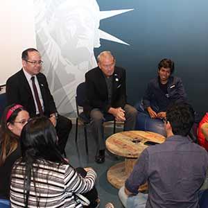Embajada de los Estados Unidos y Universidad Don Bosco inauguran nuevo espacio para el desarrollo de actividades técnico-científicas