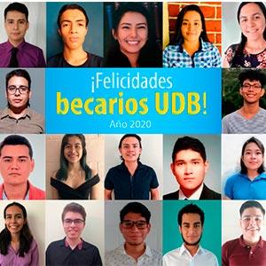 Universidad Don Bosco entrega nuevas becas para que jóvenes continúen su formación profesional