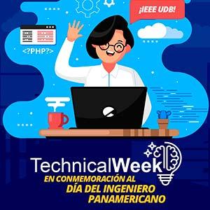 Rama Estudiantil IEEE de la UDB realizó con éxito su Technical Week
