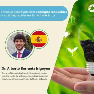 Profesionales del sector energético participaron del webinar El Nuevo Paradigma de las Energías Renovables