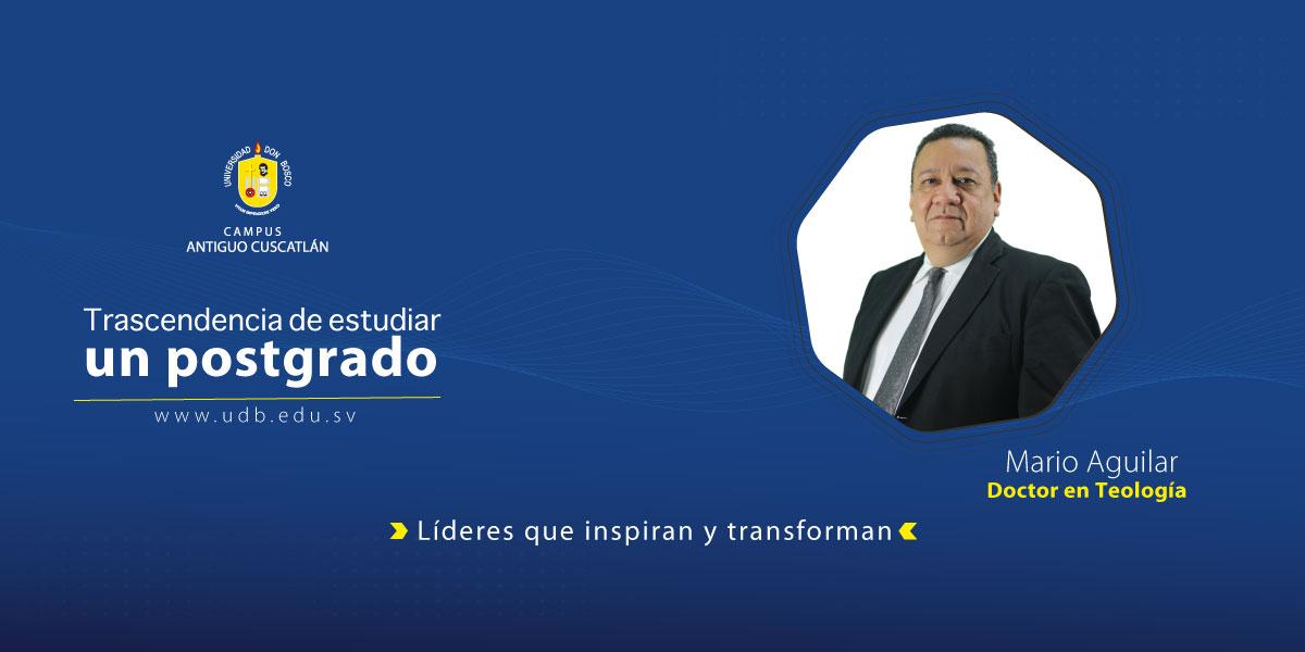 """Mario Aguilar: """" La formación religioso espiritual, para mí es tan necesaria en el ejercicio de la profesión médica"""""""