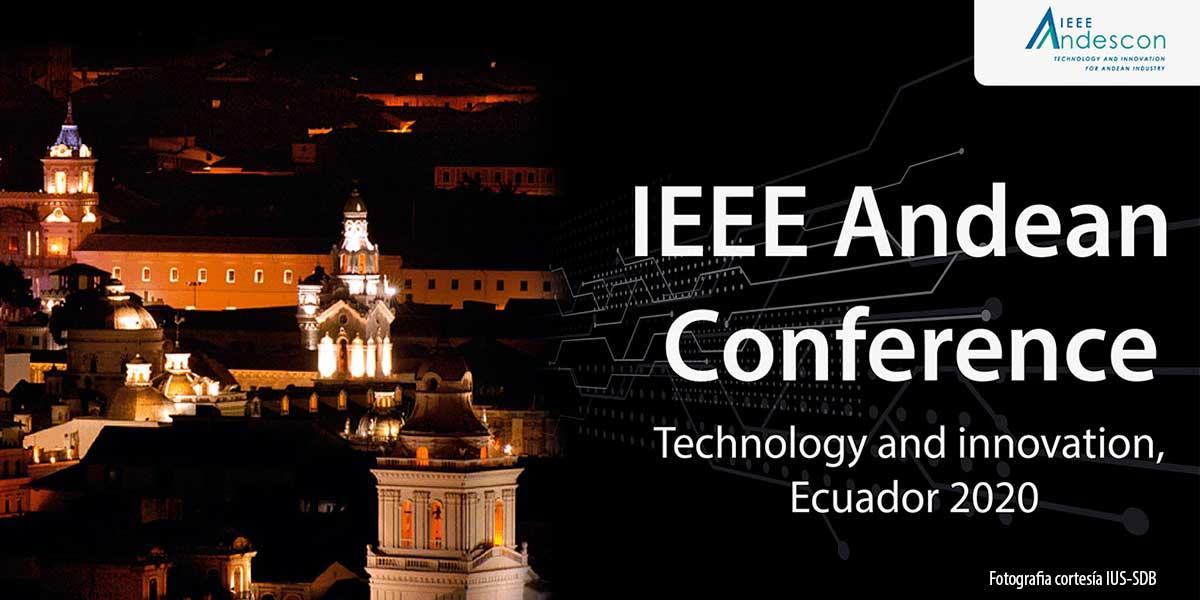 Artículos científicos escritos por docente y estudiantes UDB se presentan en IEEE ANDESCON