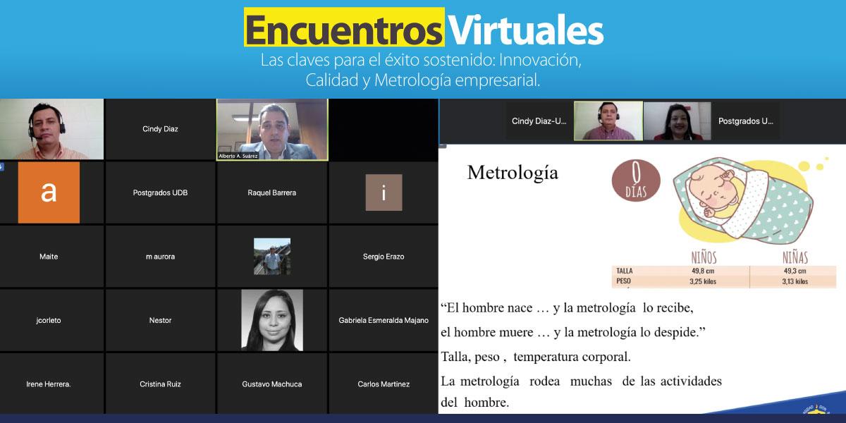 La Maestría en Calidad realiza encuentro virtual sobre innovación, calidad y metrología empresarial