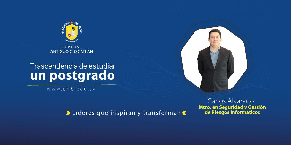 """Carlos Alvarado: """"Me interesa el área de la informática médica"""""""