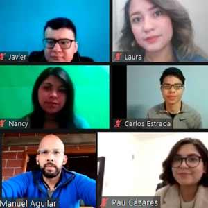 Estudiantes de México, Colombia y Ecuador realizan intercambio virtual en la UDB