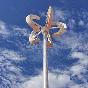 El viento, una forma práctica de aprovecharlo para generar electricidad