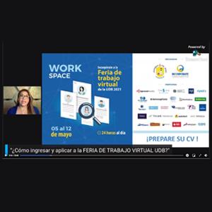 Work Space: vinculando oportunidades laborales para estudiantes y graduados UDB