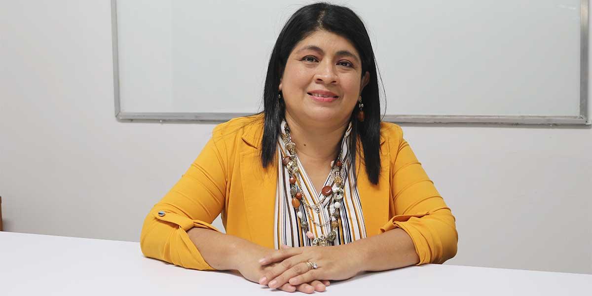 """Evelyn Hernández: """"Estudiar una ingeniería no fue primera opción"""""""