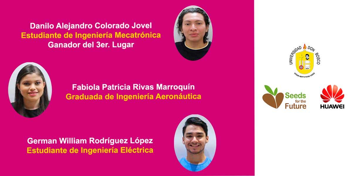 """Estudiante de Mecatrónica obtiene tercer lugar en programa """"Semillas para el futuro"""" de Huawei"""