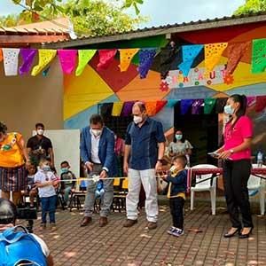 Inauguran tercera Cuna Náhuat en el municipio de Santa Catarina Masahuat