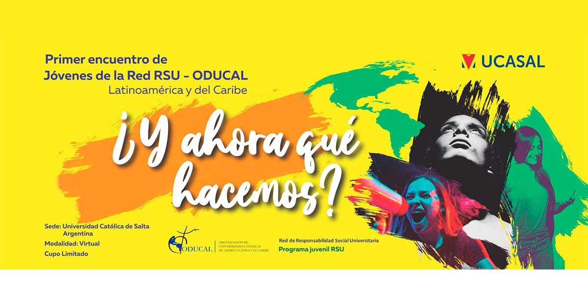 Estudiantes UDB participan en Primer Encuentro de Jóvenes de Latinoamérica impulsado por ODUCAL