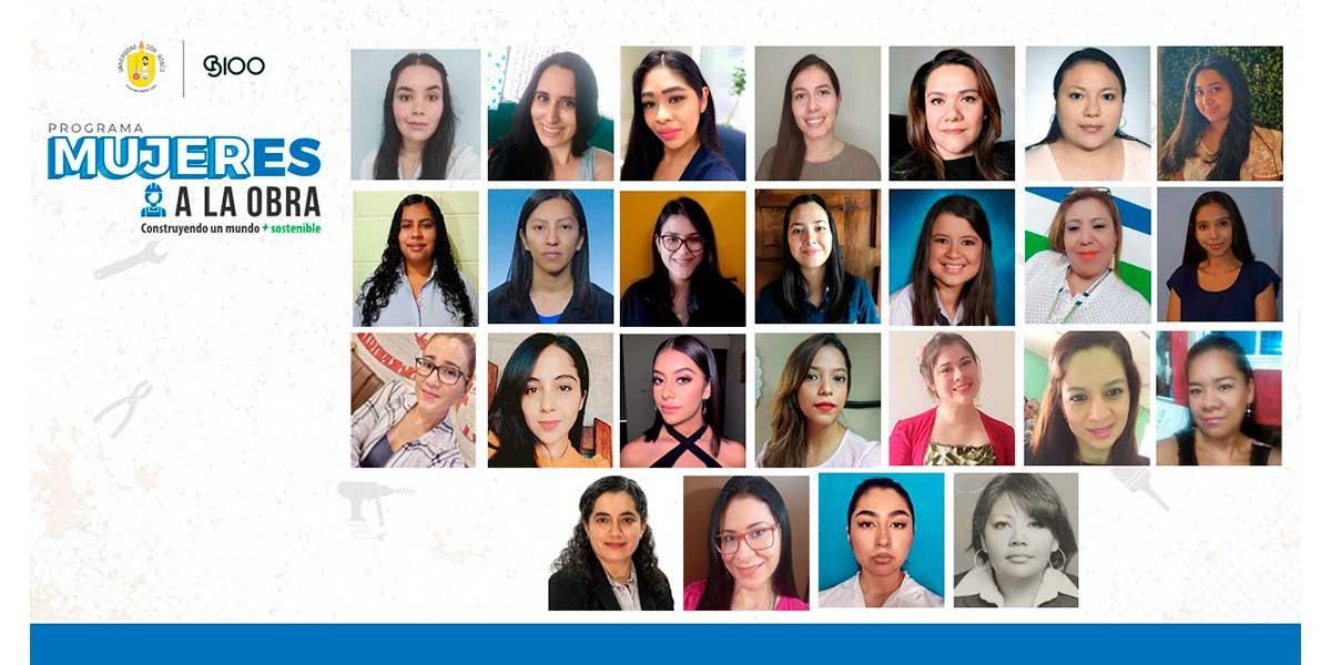 """La Universidad Don Bosco y B100 Arquitectos lanzan programa formativo """"MujerES a la obra"""""""