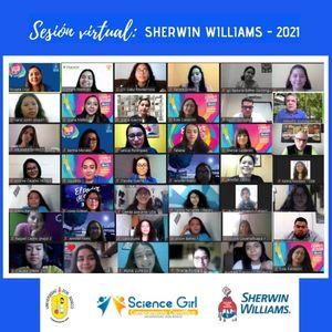 Sherwin Williams de Centroamérica abre espacio de intercambio de experiencias a señoritas del Science Girl Camp UDB