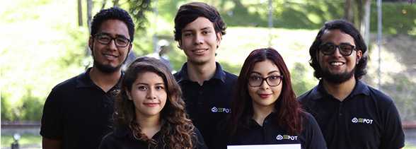 """Estudiantes UDB ganan tercer lugar en la competencia planes de negocio del """"XX Congreso Internacional Emprendedor CiES"""""""