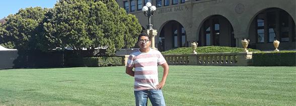 Alumno de Idiomas realiza intercambio en el International Education Center